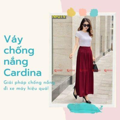 Váy chống nắng Cardina được nhiều chị em yêu thích